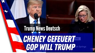 Liz Cheney fired.
