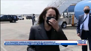 Kamala Laughs When Asked If She Will Visit Border