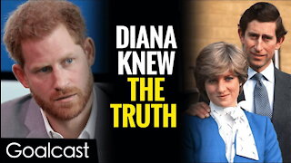 Prince Harry's Secret Feud With Charles Over Princess Diana   Lifestories By Goalcast