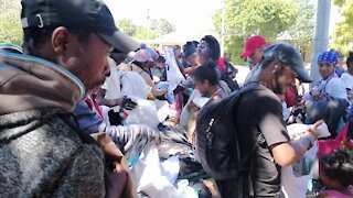 SOUTH AFRICA - Cape Town - World Homeless Day Summit (Video) (XNe)