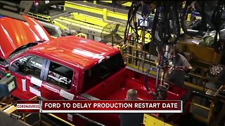Ford to delay production restart date to protect workers