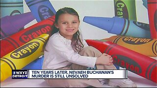 A decade later, still no answers in the murder of 5-year-old Nevaeh Buchanan