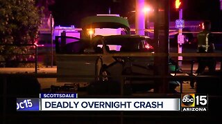 Driver impaired in deadly Scottsdale crash