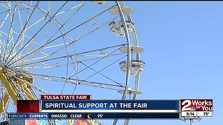 Spiritual support offered at the Tulsa State Fair