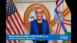 Mayor Jane Castor discusses possible stay-at-home order for Tampa residents
