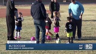 Fouhy's Small Stars: Black Bears vs. Grasshoppers soccer