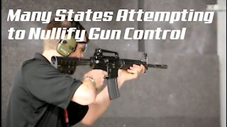 Several States Attempting to Nullify Gun Control