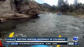 Rafting season is underway!