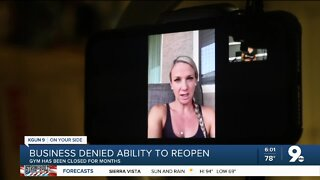 Local gym describes what's next after being denied reopening