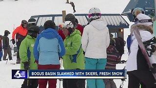 Bogus Basin overcrowded