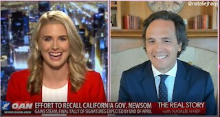 """The Real Story - OANN """"Racist"""" Recall with Tom Del Beccaro"""