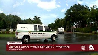 PBSO deputy shot in western Boynton Beach