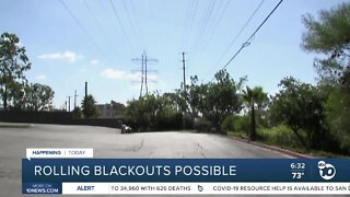 San Diegans bracing for possible rolling power outages