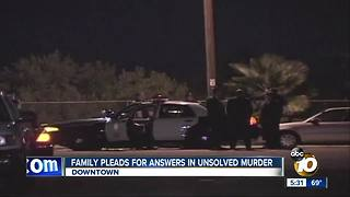 Family pleads for answers in unsolved murder
