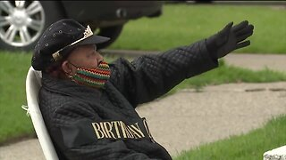 Detroit woman honored with parade on 94th birthday