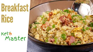 Keto Breakfast Rice | Easy Low Carb Recipes | Ketogenic Diet Plan