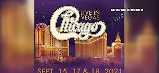 Rock band Chicago returns to Vegas
