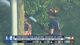 Preparing for wildfires during dry season