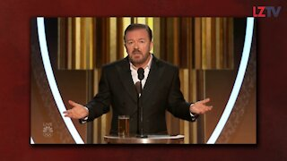 Break Down of Ricky Gervais Monologue at the Golden Globes