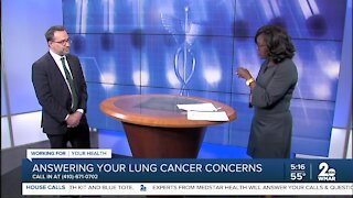 Lung Cancer Concerns Answered