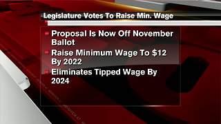 Michigan Senate approves $12 minimum wage, sick time initiatives