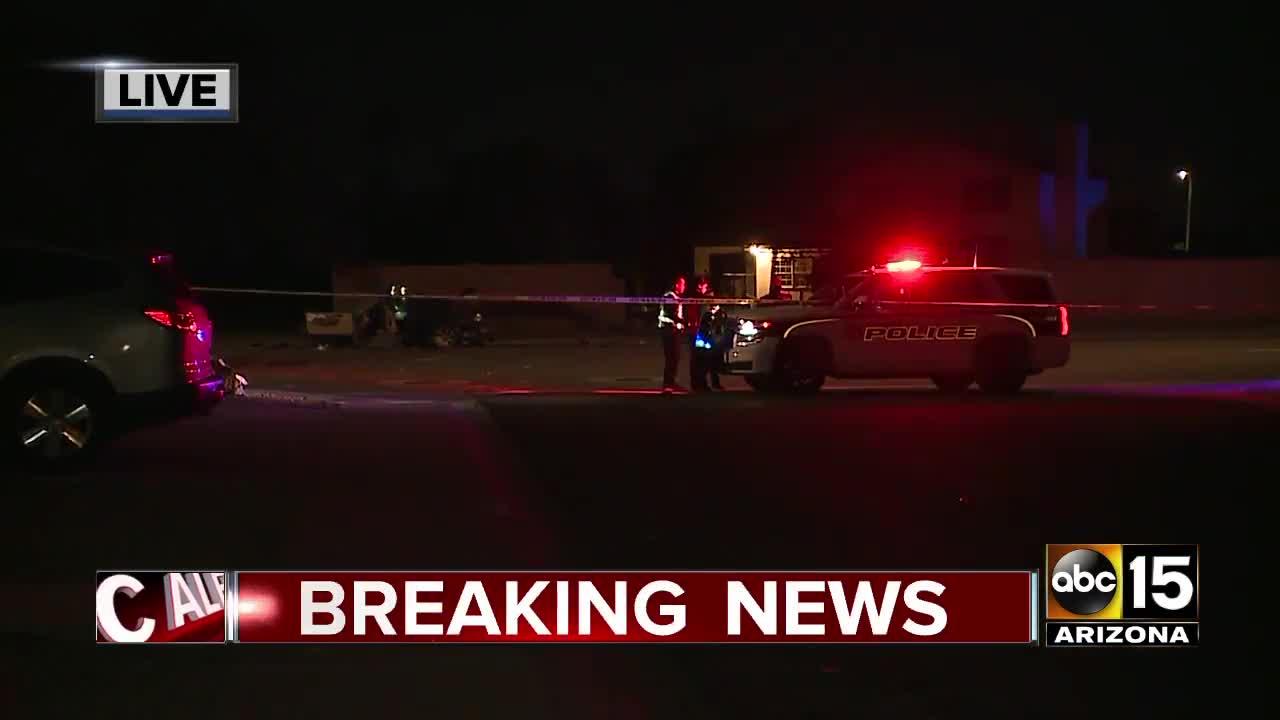 Police investigating deadly crash in Glendale