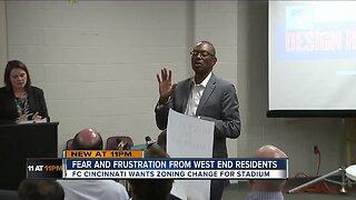 FC Cincinnati zoning change angers West End residents