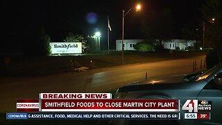 Smithfield Foods to close Martin City plant