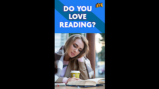 Why should you never stop reading? *