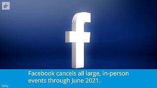 Facebook Live Events Canceled