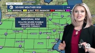 Metro Detroit weekend forecast