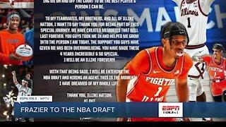 Barnes, Frazier enter NBA draft