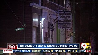 City council to discuss renaming McMicken Avenue