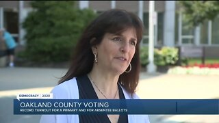 Record turnout for primary and absentee ballots