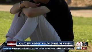 Mental health professionals offer stay-at-home advice