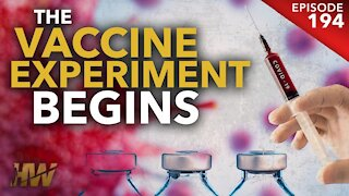 THE VACCINE EXPERIMENT BEGINS