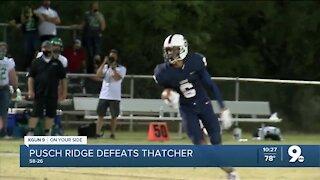 Pusch Ridge Christian defeats Thatcher 58-26