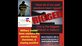 MI GENE on Dominion, Election Fraud & Staying Positive