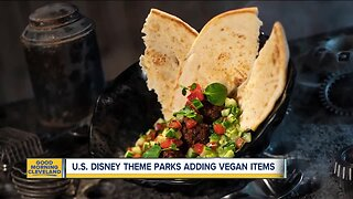 Disney adding more vegan choices at theme parks