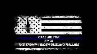 Donald Trump Rally v Joe Biden Social Gathering
