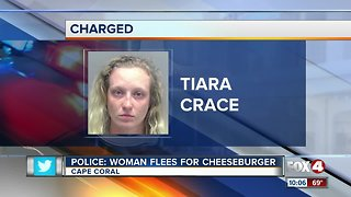 Woman flees police in Cape Coral