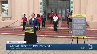 Racial justice policy vote