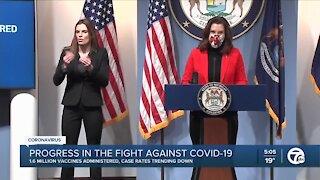 Michigan Gov. Gretchen Whitmer updates COVID-19 response