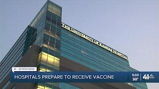 Hospitals prepare to receive COVID-19 vaccine