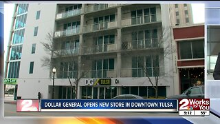 Dollar General opens new store in downtown Tulsa