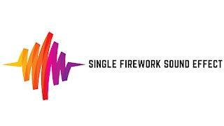 Single Firework Sound Effect