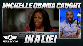 Michelle Obama Caught In A Lie About Her Daughters