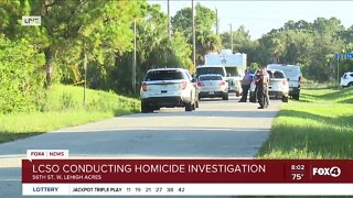 Lee County Sheriffs conduct death investigation
