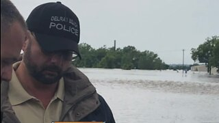 Local first responders aiding the Midwest