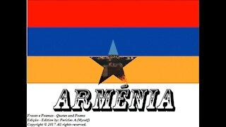 Bandeiras e fotos dos países do mundo: Armênia [Frases e Poemas]